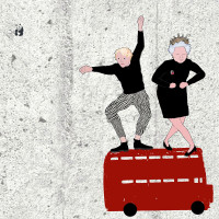 Moving London Illustration